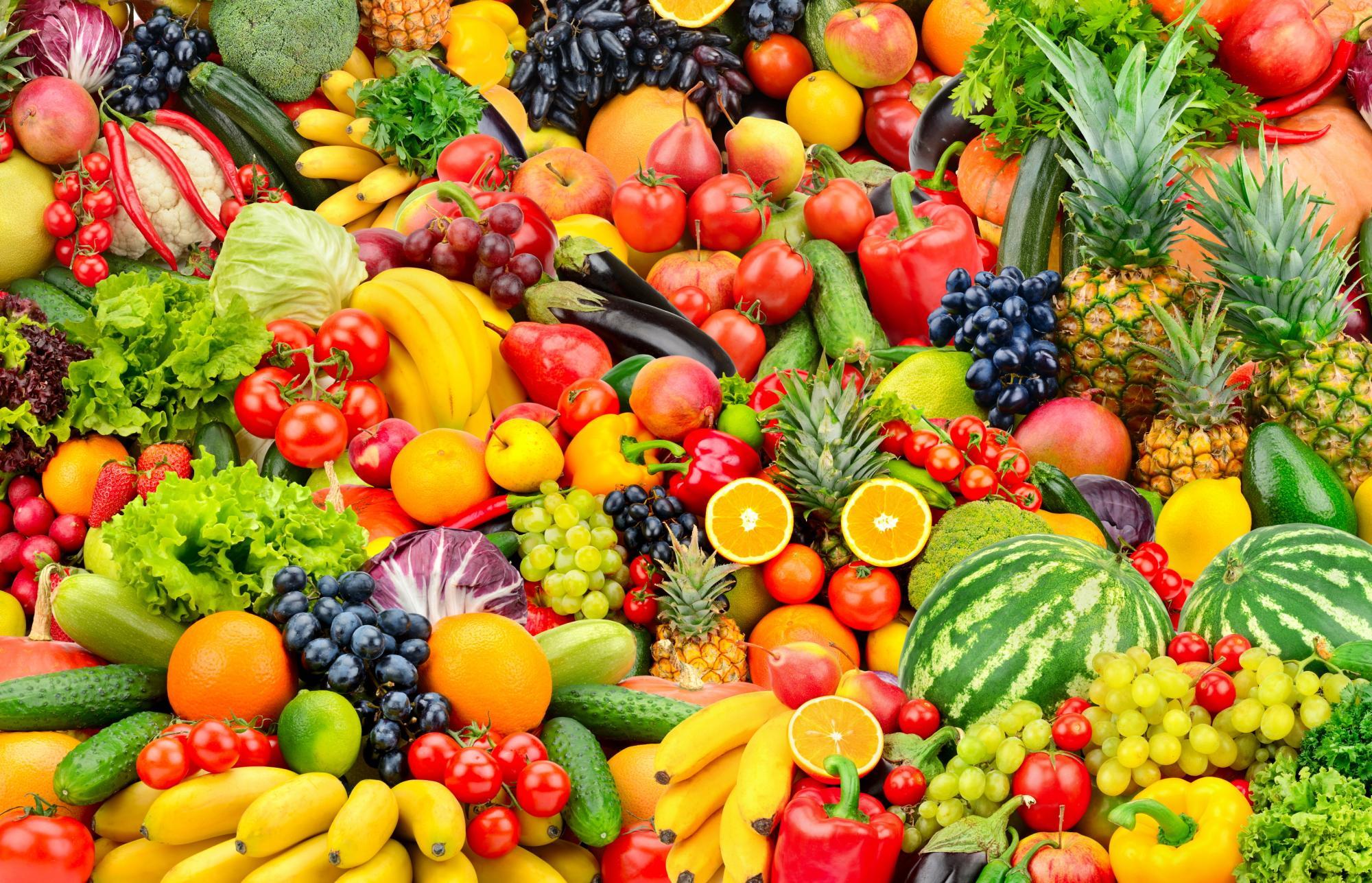 Online fruit winkelen en geven